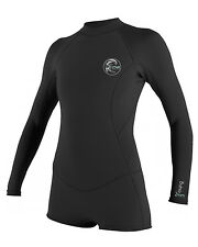 Ladies O'Neill Bahia 2/1mm Spring Suit - Black  - On Sale Now