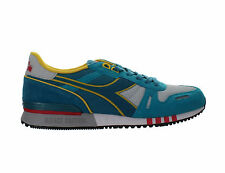 Mens Diadora Titan II 2 Gray Blue C5756