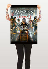 Assassini CREED consorzio POSTER STAMPA FOTO XBOX ONE PLAYSTATION A0 A1 A2 A3 A4