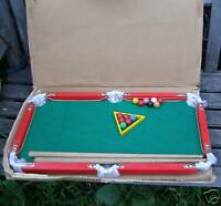 """VINTAGE WOODEN BILLIARD TABLE GAME 23"""" X 14""""INCHES WIDE"""