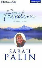 Sweet Freedom : A Devotional by Sarah Palin (2015, CD, Unabridged)