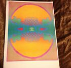 Rare Vintage Peter Max Infinity Peace Pop Op Psychedelic love wall Art Poster