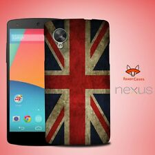Vintage United Kingdom UK Flag Case Cover for Nexus