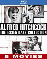Alfred Hitchcock: The Essentials Collection (Blu-ray Disc, 2013, 5-Disc Set)