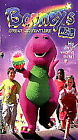 Barney - Barney's Great Adventure: The Movie (VHS, 1998)