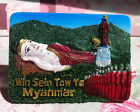 TOURIST SOUVENIR Resin 3D FRIDGE MAGNET -- Win Sein Taw Ya , Myanmar