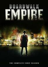 Boardwalk Empire: The Complete First Season (DVD, 2012, 5-Disc Set), NEW