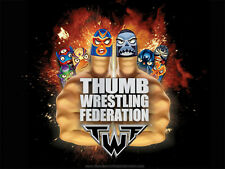 TWF Thumb Wrestling Federation: Pick your Thumb Wrestlers incl. Rares or Packs