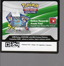 1 x Pokemon Unused Code Card (ONLINE REWARDS) HOOPA EX LEGENDARY COLLECTION C32