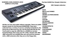 THE BEST EVER KURZWEIL K2000/2500 SAMPLE COLLECTION - SUONI E S.O.