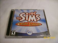 PC- THE SIMS DELUXE EDITION W/KEY (NO MANUAL)