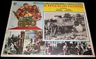 1970 Kelly's Heroes ORIGINAL MEXICAN LOBBY CARD Clint Eastwood Donald Sutherland