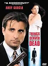 Things to Do in Denver When You're Dead (DVD 1999) RARE THRILLER W / INSERT