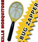 Premium Electronic Bug Zapper Kill Mosquitoes Handheld Electric Tennis Racket