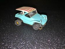 Aurora T-Jet Slot Car Dune Buggy Coupe rare TURQUOISE #1399