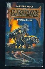 D&D Greyhawk Book - Master Wolf by Rose Estes 1987 Dungeons & Dragons