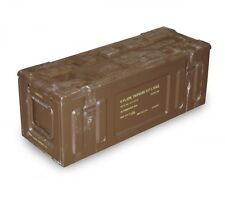 Genuine Large Military Mortar Ammunition Box Case Brown Army 65cm Preppers