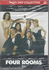 Dvd **FOUR ROOMS** 4 film di Anders • Rockwell • Rodriguez • Tarantino • nuovo