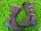 BROWN WOMEN'S BOOT SHOES SIZE 5-9