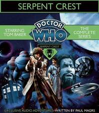 # BBC Audio Doctor Who Serpent Crest -The Complete Series,5 x CDs,New & Sealed #
