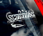 Scorpions - Car Window Sticker - Music Heavy Metal Rock Sign Art Gift