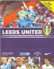 LEEDS UNITED V DERBY COUNTY PREMIERSHIP 2001-2 76 QUALITY PAGES EXCELLENT