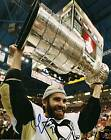 Pascal Dupuis signed Pittsburgh Penguins Stanley Cup 8x10 photo  B