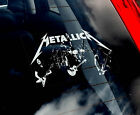 Metallica - Car Window Sticker - Heavy Metal Rock Music Band Sign Art Gift -TYP1