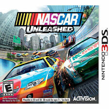 New Nintendo 3DS 3 DS NASCAR Unleashed Game Sealed Racing Video Race