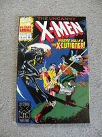 "The Uncanny X-Men ""Where Walks the X-Cutioner!"" vol.1 No.1 Marvel 64 page annual"