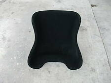 NEW Go Kart size XL carpet bucket Seat Racing BLACK