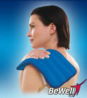 BEWELL Moist Heat Pad Arthritis Hot Pain Therapy Pad- NEW NEW-Blue