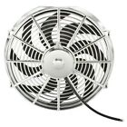 High Performance Chrome 14inch Thermo Fan Electric Fan Kit 220watt 12volt 12v c