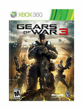 Gears of War 3 (Microsoft Xbox 360, 2011) BRAND NEW FACTORY SEALED!