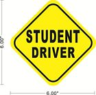 Student Driver Removable Sticker Decal Safety Car Sign Safe Drive Teen ~A033