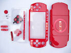 For Sony PSP 2000 Series Slim Housing/Shell/case/facia+Buttons+Screws Kit Red d
