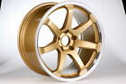 DTM Rush Wheels 18 inch Toyota Supra JZA80 Soarer JZZ30 in Gold Colour