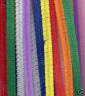 100pk MULTI COLOURED PIPE CLEANERS/CHENILLE STEMS 12""