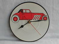 """THE CARS""""MY BEST FRIENDS"""" GREAT PICTURE DISC CLOCK"""