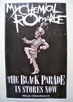 My Chemical Romance *The Black Parade* Promo Poster RARE Gerard Way RARE OOP