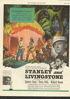 1939--Stanley & Livingston Movie ad Spencer Tracy,Richard Greene,-/353
