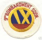 1960s-70s 9th BOMB SQUADRON patch