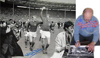 """JACK CHARLTON SIGNED ENGLAND 1966 WORLD CUP 16""""x12"""" PHOTOGRAPH SEE PROOF"""