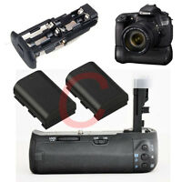 Grip for Canon BG-E9 EOS 60D + 2 Decoded LP-E6 BATTERY