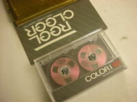 Purple Reel to Reel Audio Cassette Tapes