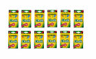 Crayola Chalk Nontoxic Assorted Colors 12 count - (Pack of 12)