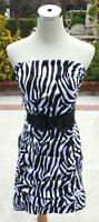 NWT WINDSOR black / White Juniors Party Day Dress 5