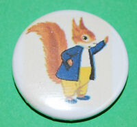 Tufty     Button Badge 25mm