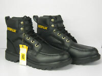 MENS CATERPILLAR LACE UP BLACK ANKLE BOOT 'P713887' SIZE 11