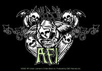 New, Genuine AFI - Angels Skulls VINYL STICKER Decal